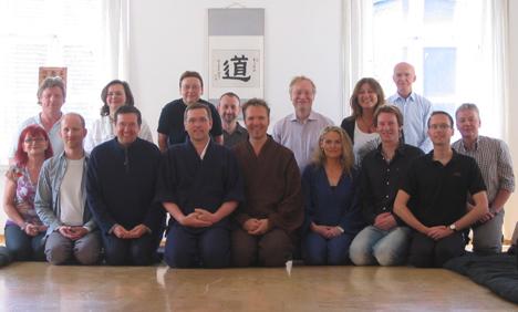 Die Teilnehmer des Zen-Leadership Seminars 08. - 10. Mai 2009